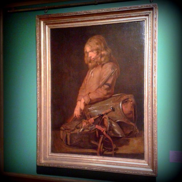 Хальс. Портрет молодого солдата