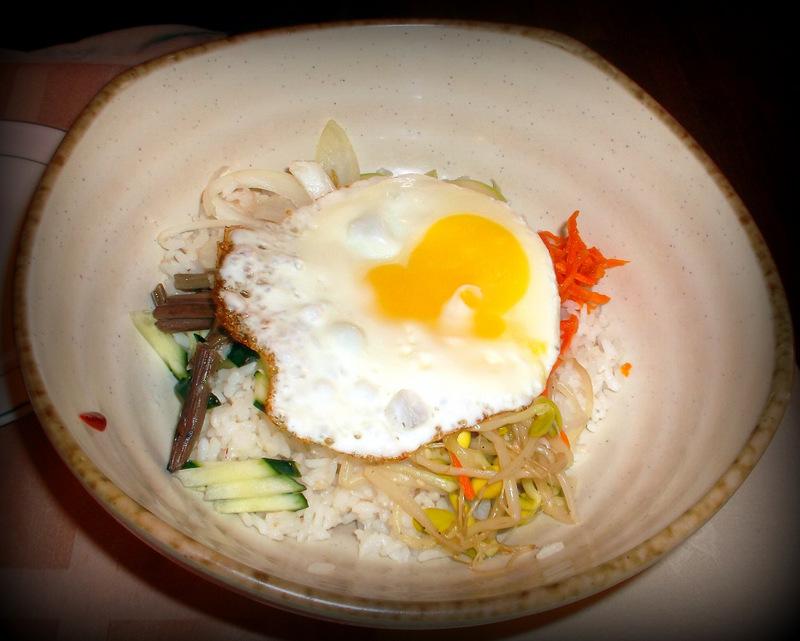 Пибимпаб с яйцом
