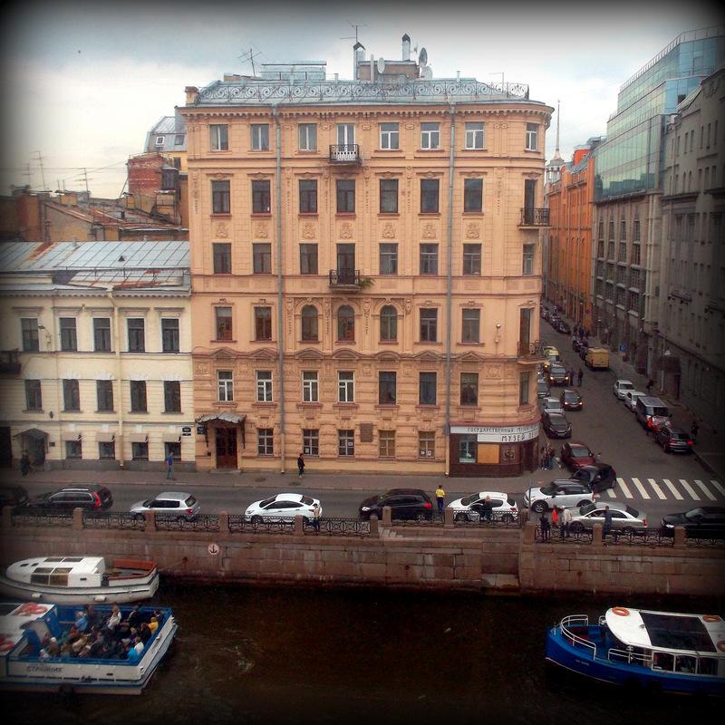 Главный штаб. Вид из окна