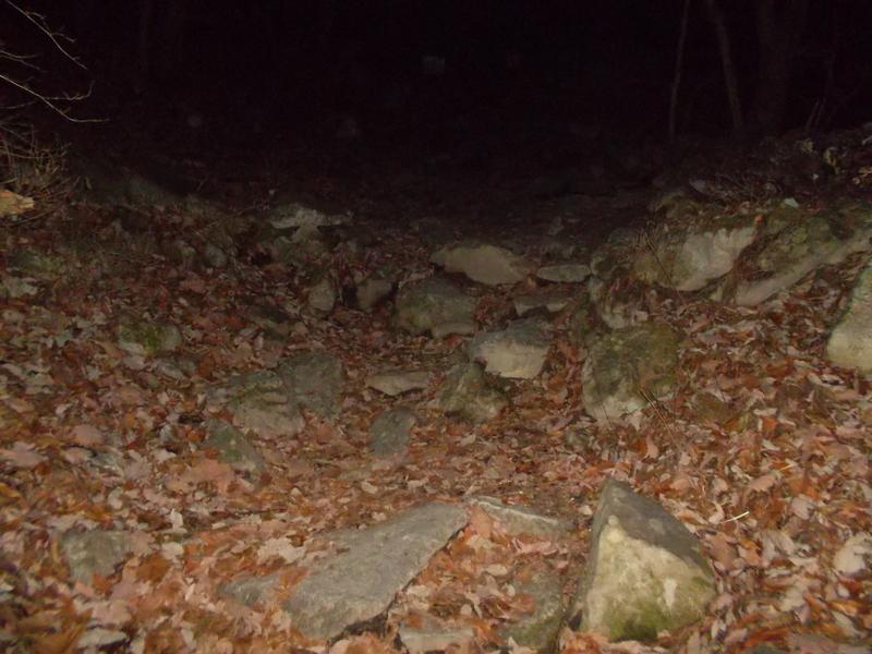 каменистый подъём
