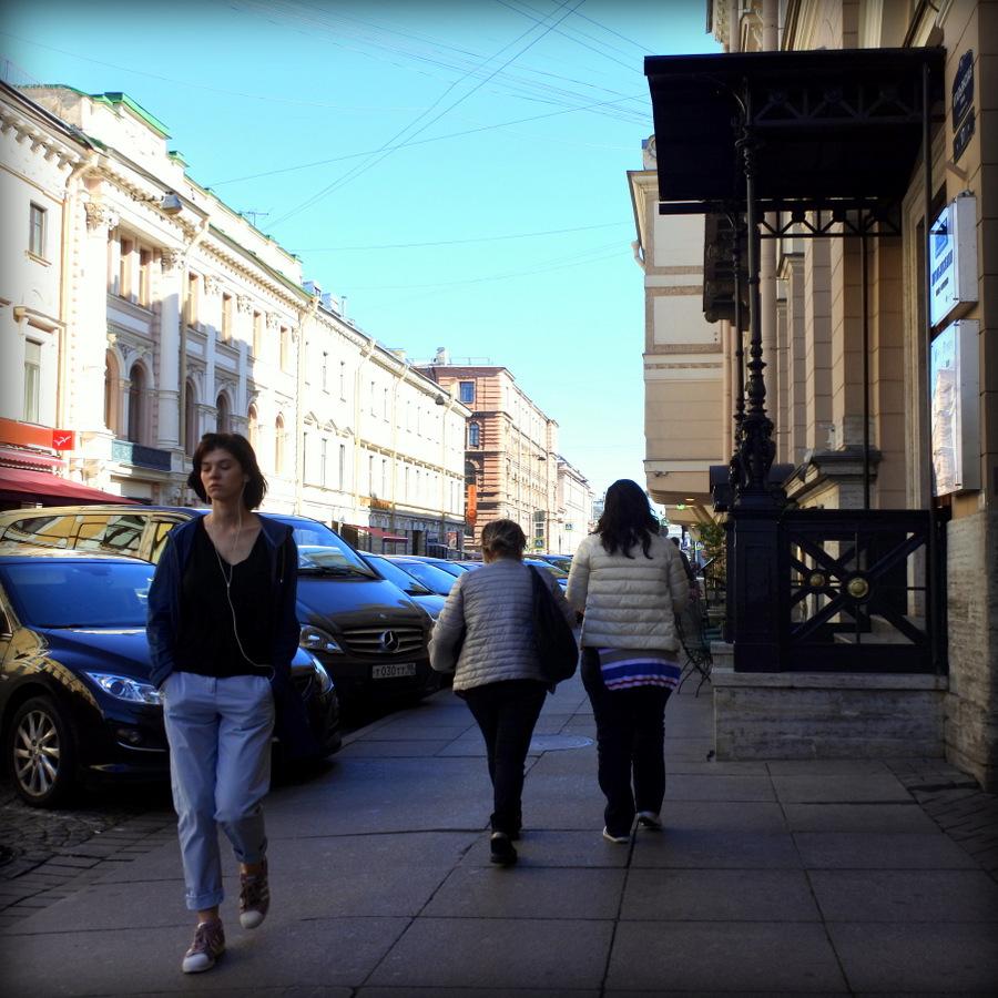 На Итальянской улице