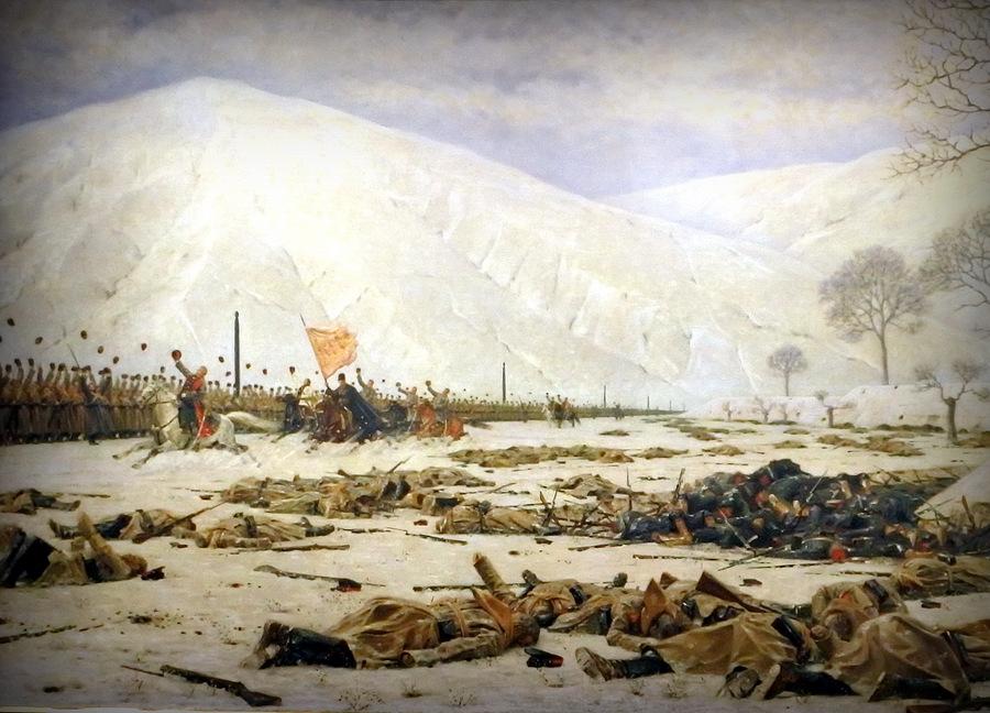 Скобелев под Шипкой (фрагмент)