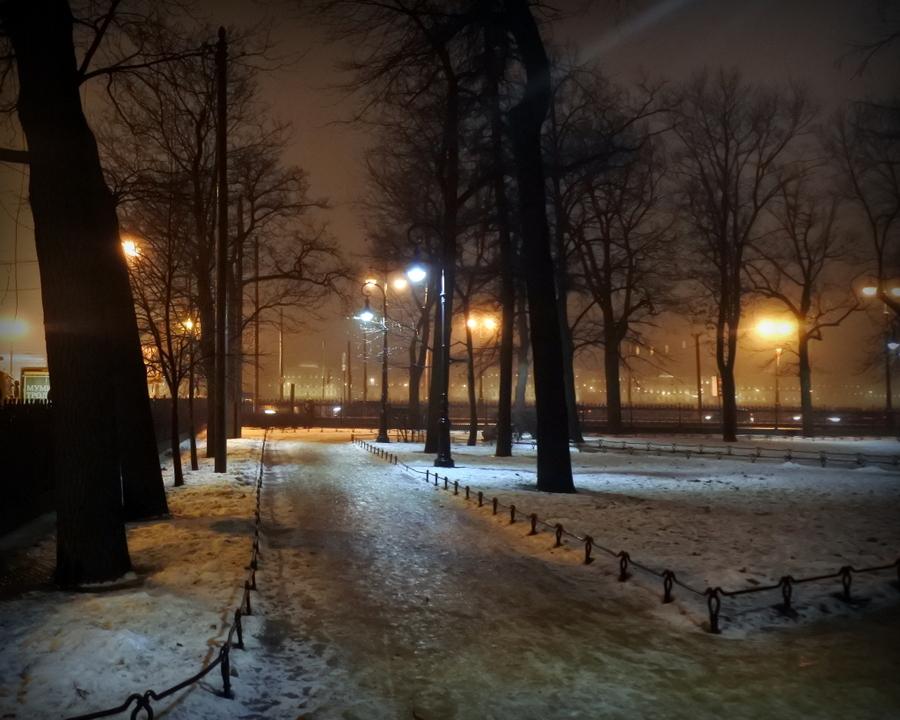 В Румянцевском саду