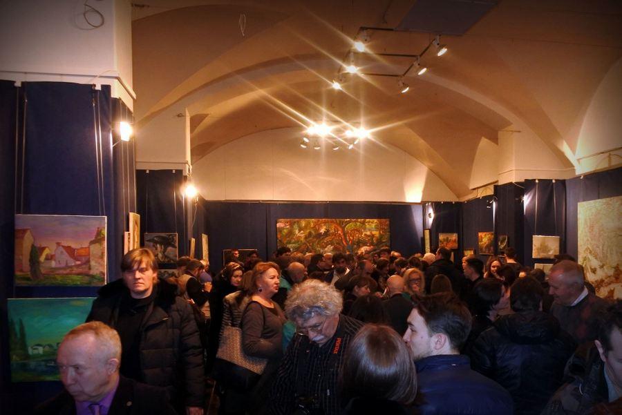 выставка Виктора Тихомирова