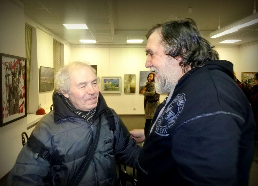 Арон Зинштейн и Дмитрий Шагин