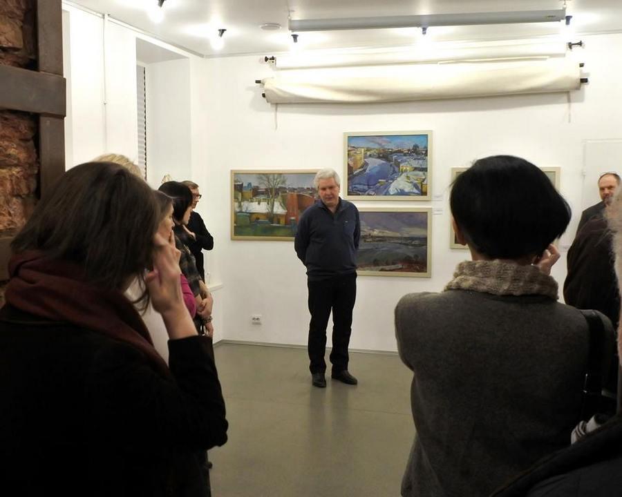 Открытие выставки Игоря Чурилова