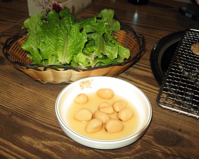 Салат и чеснок