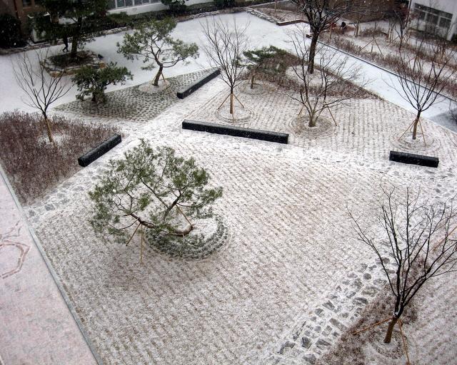 Университет Тэгу. Декабрь 2012