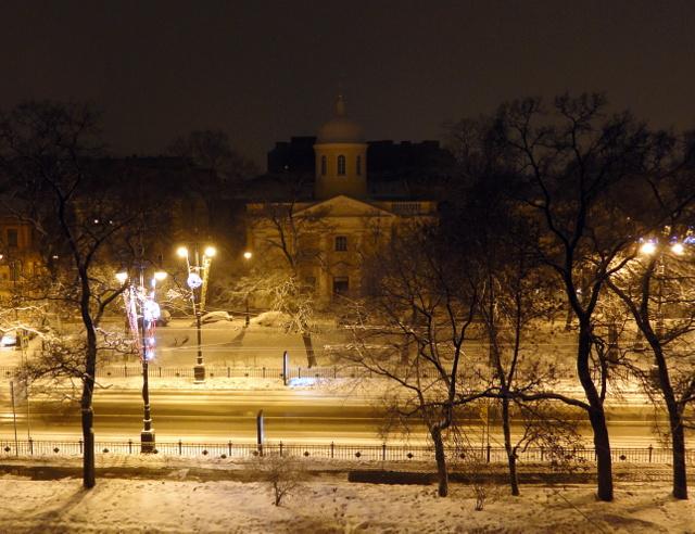 Петербург. Январь