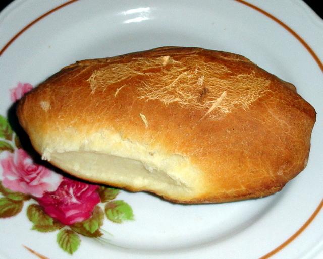 первый пирожок