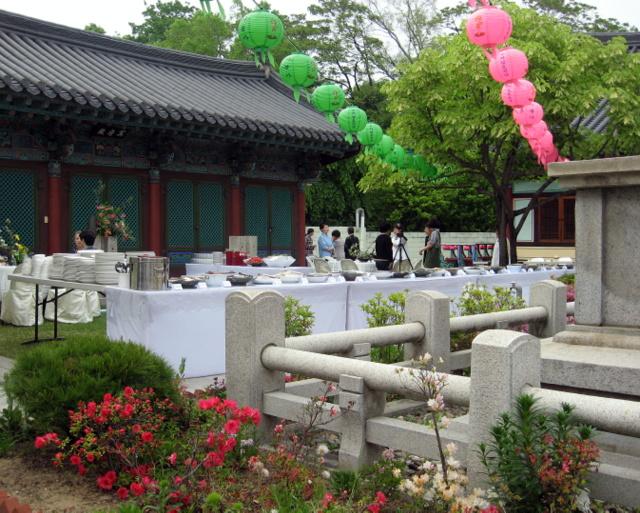 Фестиваль буддийской кухни