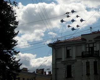 МиГи над Петербургом