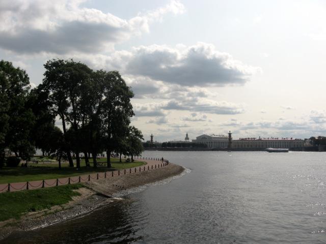Вид на Заячий и Васильевский острова