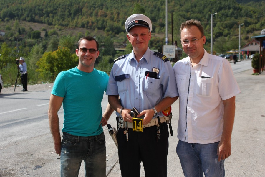 Боснийский полицейский Denis.