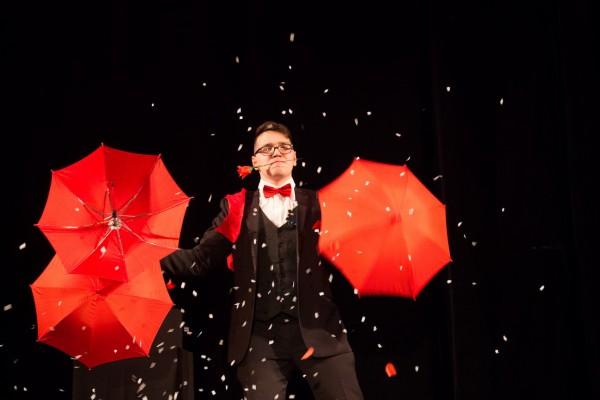 Фокусы с зонтиками