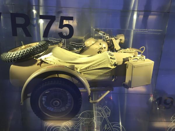 Мотоцикл из музея BMW