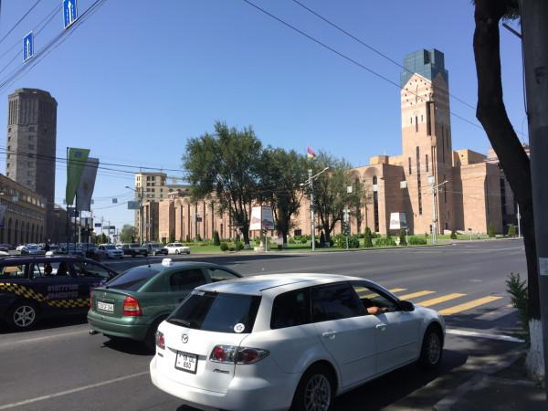 Ереван днем
