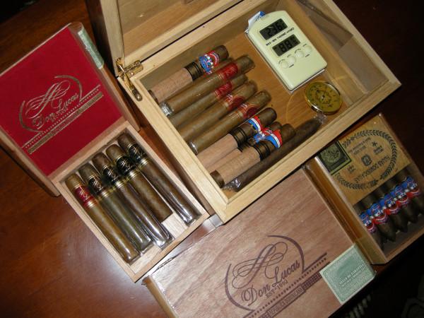 Домашние запасы сигар