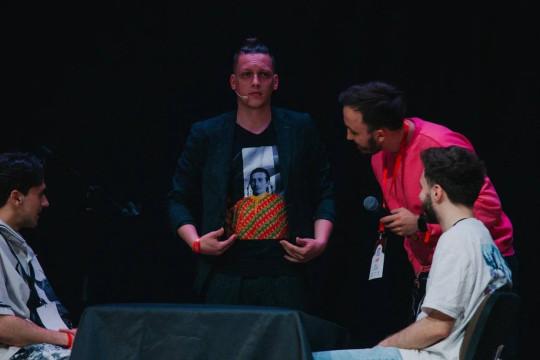 Эдуард Грамм и его конкурсный номер