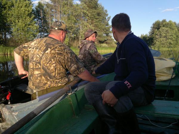 Обиженные рыбаки