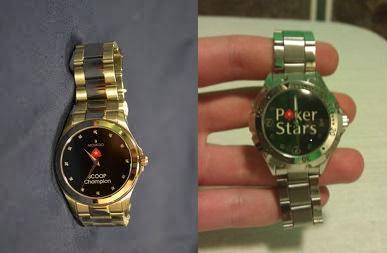 Часы от PokerStars!