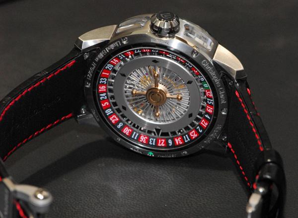 Нижняя часть часов Christophe Claret 21 BlackJack