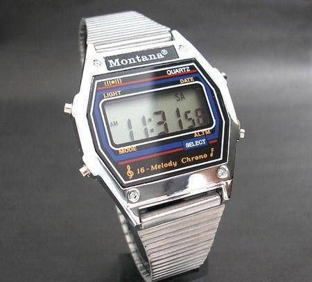 Легендарные часы Montana, 16 мелодий