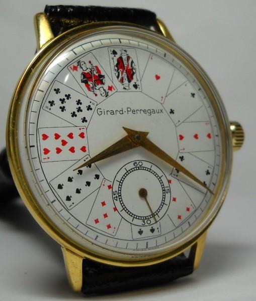 Часы с картами