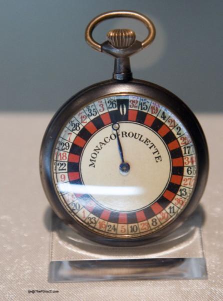 Часы-рулетка