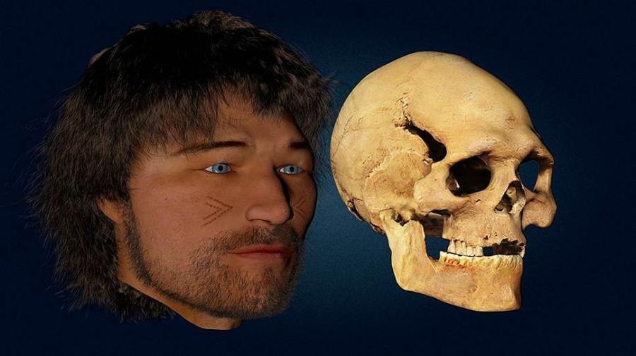 Вот реконструкция лица из более молодого WHG (8000 лет) из Люксембурга.jpg