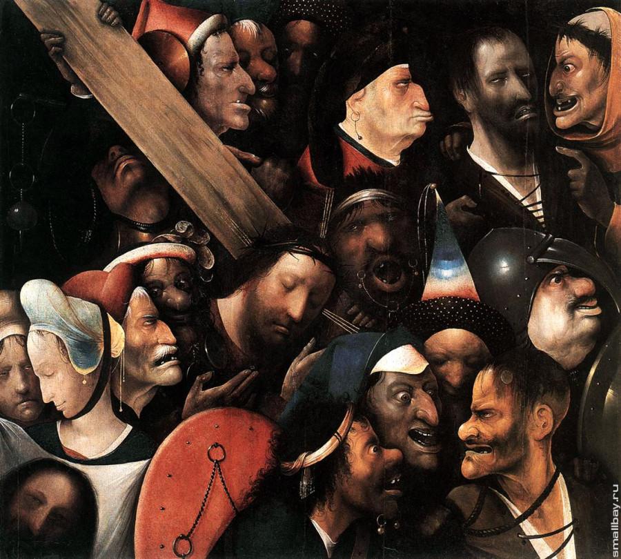 Hieronymus_Bosch. Несение креста. 3.jpg