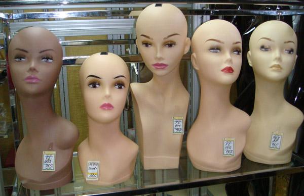 Как сделать голову манекена с волосами