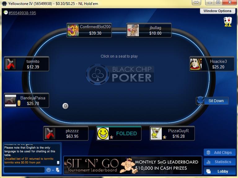 BlackChip Poker Table