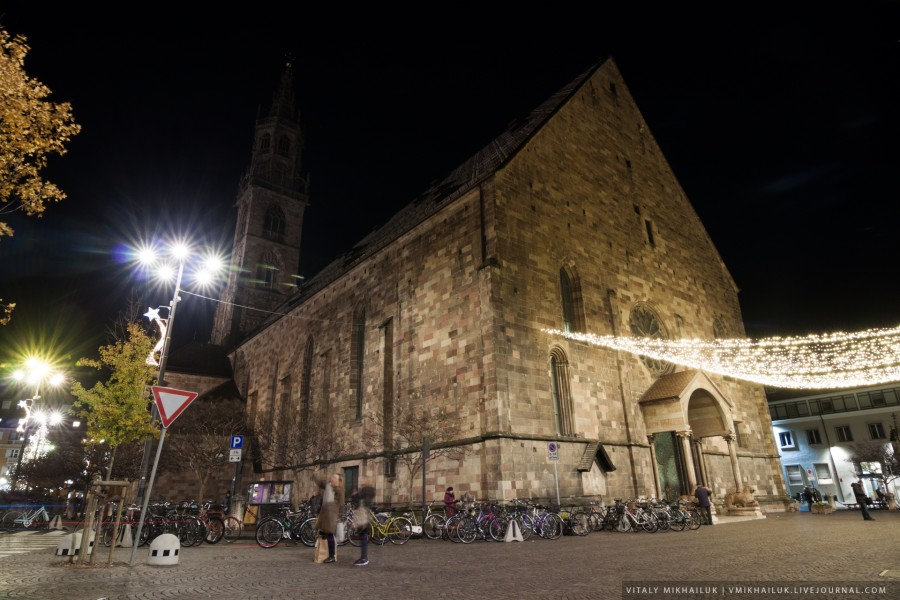 Больцано: рождественский город на границе Италии и Австрии