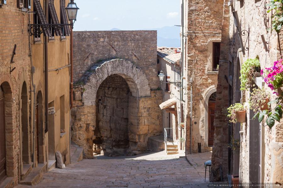 Вольтерра (Volterra): самый мрачный город Тосканы