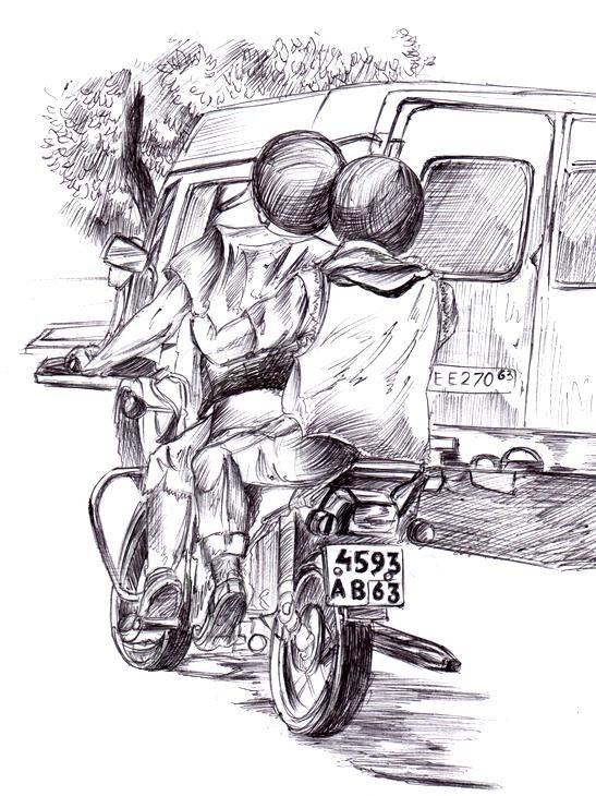209 Двое на мотоцикле