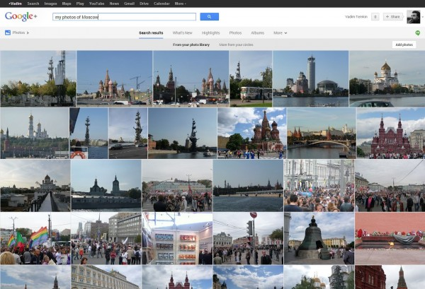 Google+Moscow