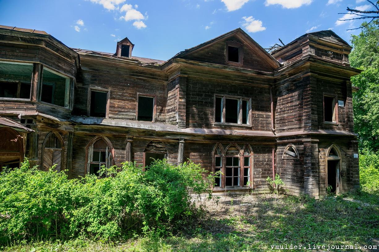 Старинные деревянные усадьбы россии фото