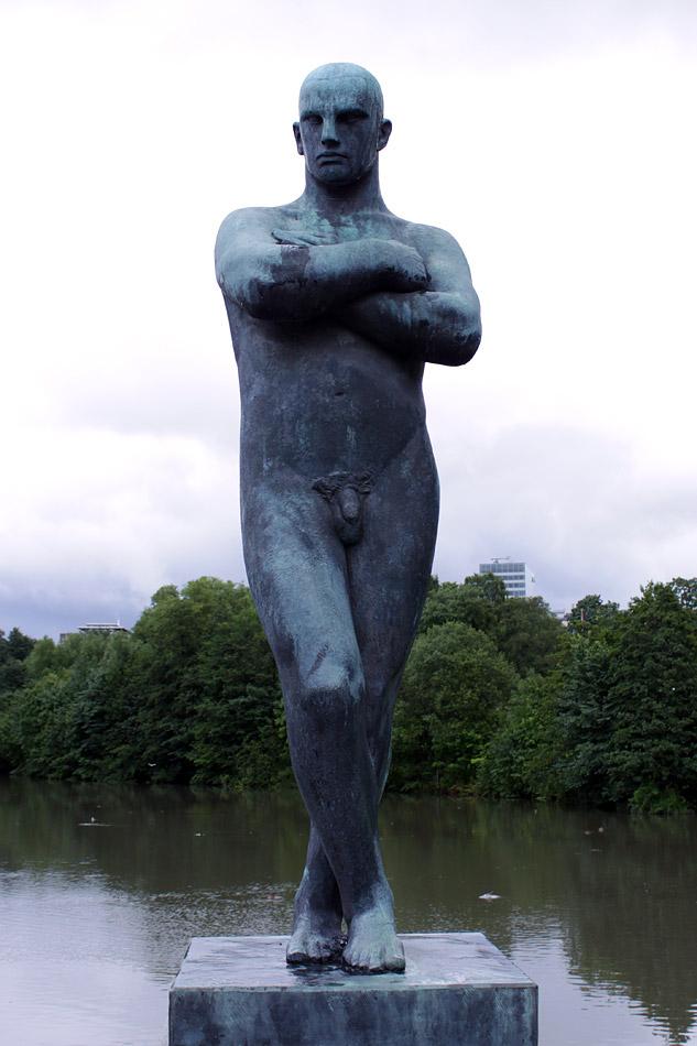 Парк скульптур Вигеланда. Осло. Норвегия.