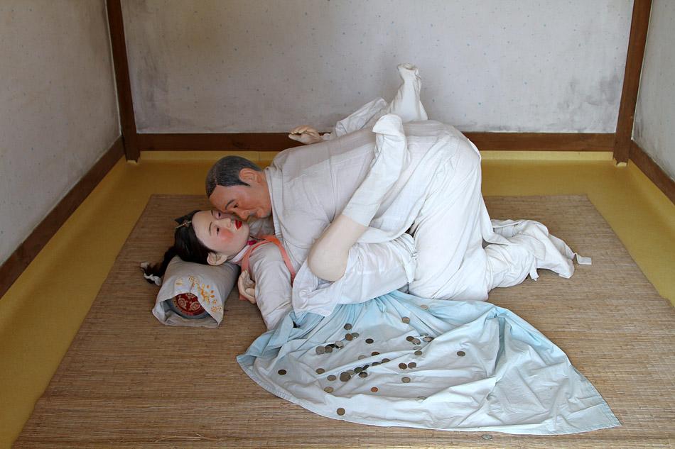 Парк эротического фольклора Хэсиндан. Южная Корея