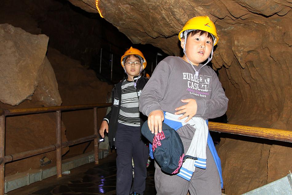 Южнокорейская пещера Чонгок.