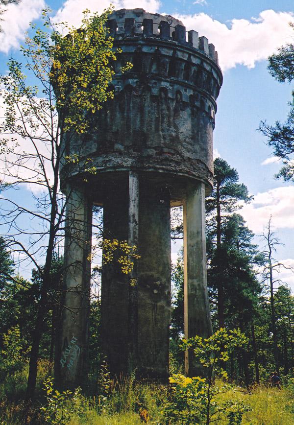 Ленинградская водонапорная башня