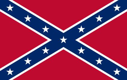 Боевой флаг Конфедерации