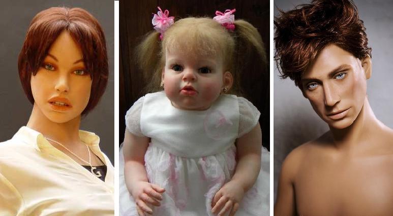 силиконовые куклы