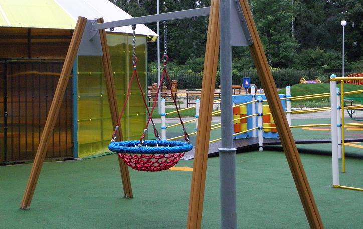 особые дети- парк- качели плетёные1