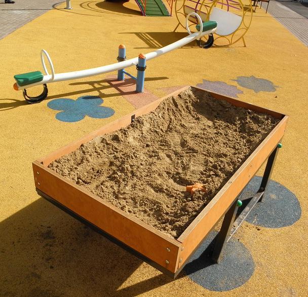 особые дети- парк- песочница
