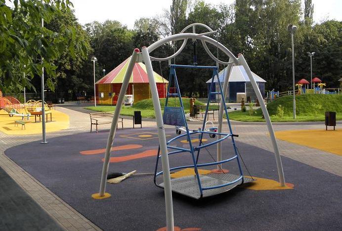 особые дети- парк-качели4