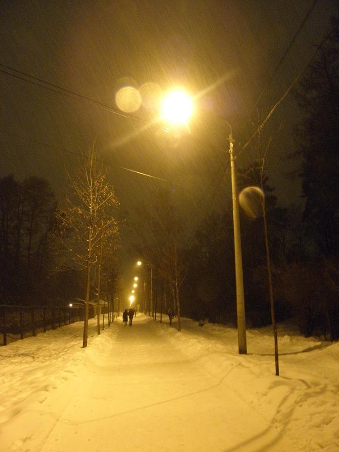 парк-зима