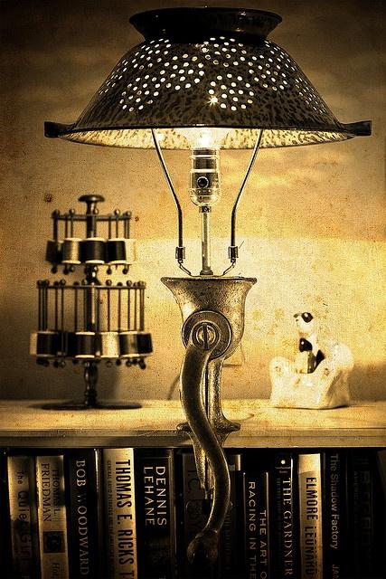 мясорубка- лампа