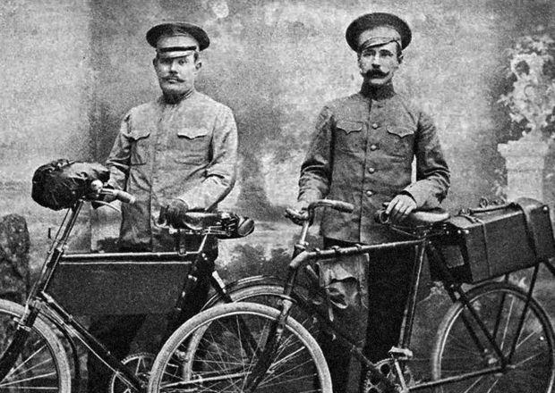 городовые на велосипедах